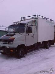 Автоуслуги по городу Казани,  РТ,  РФ на зил - бычке ( фургон 20 кубов). до 3 тонн или 3000 килограммов