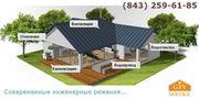 Монтаж инженерных систем,  в т.ч.: отопление,  вентиляция,  канализация